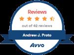 Avvo Reviews - Andrew Proto